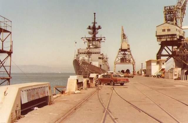 USS FANNING, Hunter's Point