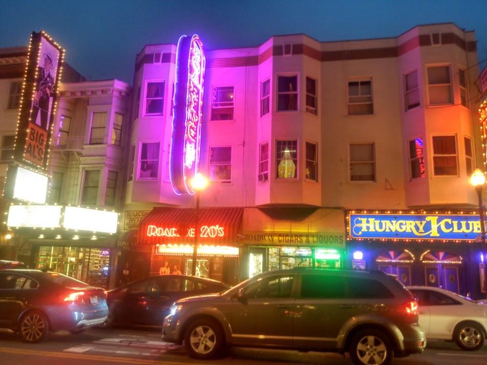 Broadway in North Beach