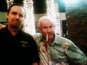 Me and Tommy Smothers, Hilton Palm Springs 2009