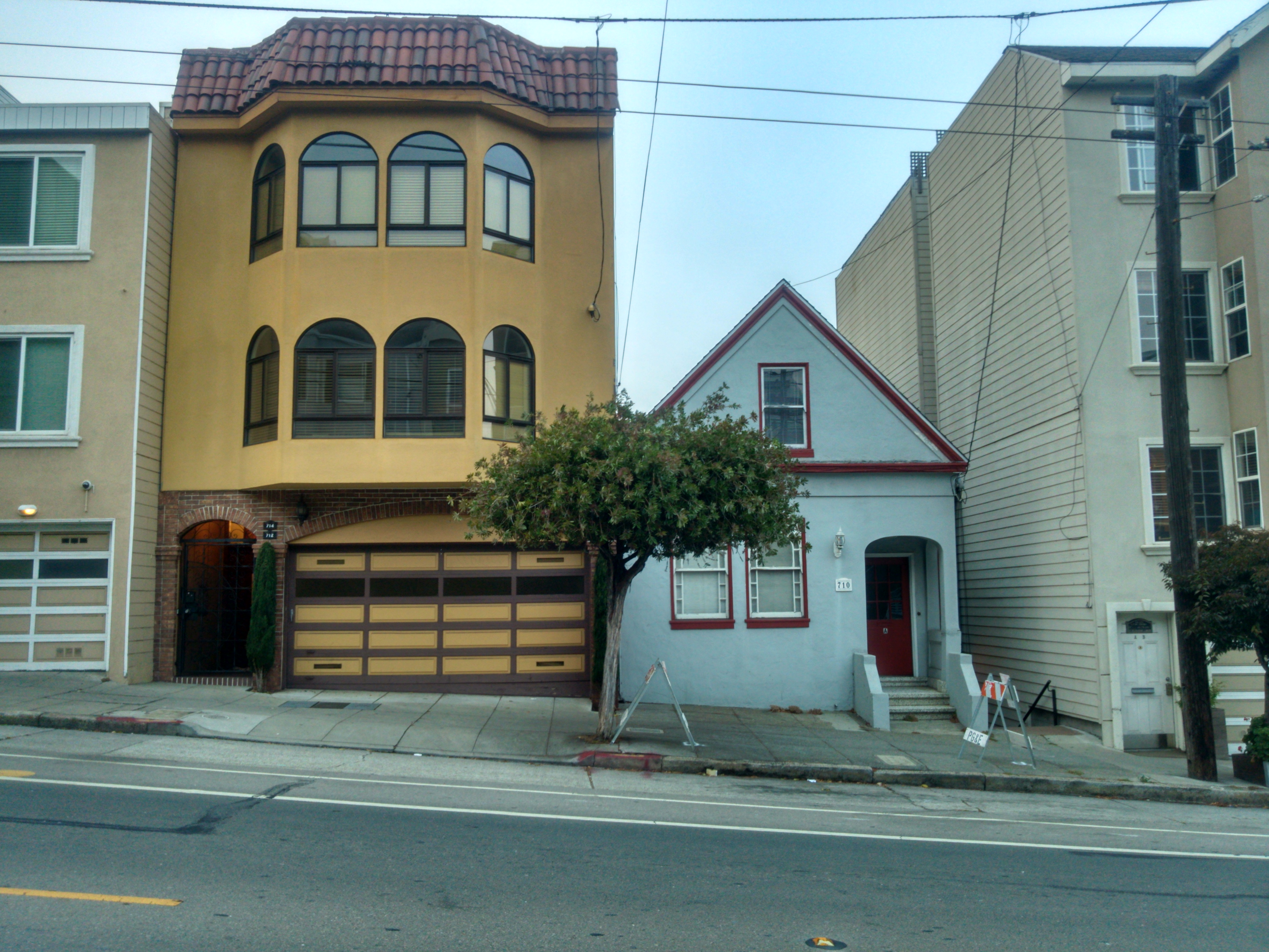 Example of the varying architecture in San Francisco